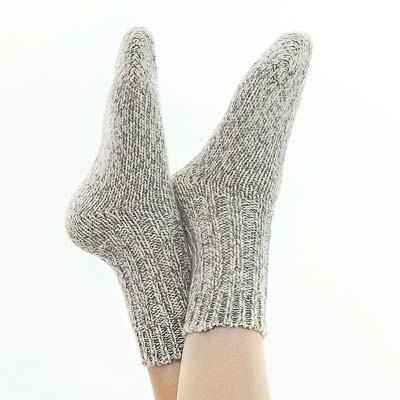 Rustieke wollen sokken